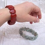 red jasper,dalmatian jasper,quartz